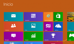 Windows 8 inicio